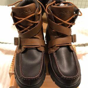 Polo by Ralph Lauren Zig Zag II leather boots